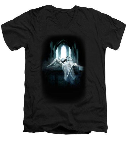 Demon Men's V-Neck T-Shirt by Joe Roberts