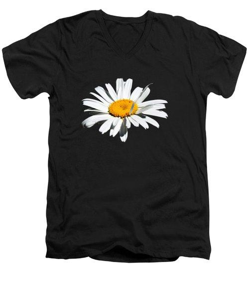 Innocence  Men's V-Neck T-Shirt by Debbie Oppermann