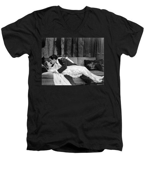 John Gilbert (1895-1936) Men's V-Neck T-Shirt by Granger