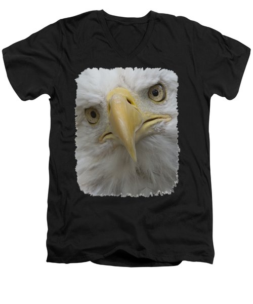 Really Men's V-Neck T-Shirt by Ernie Echols