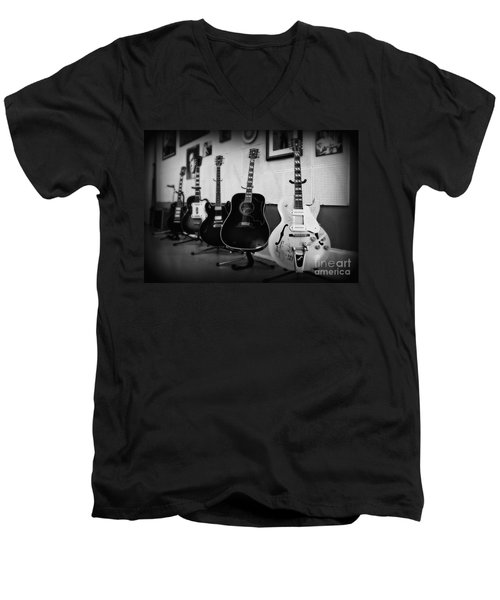 Sun Studio Classics 2 Men's V-Neck T-Shirt by Perry Webster