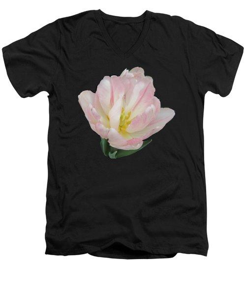 Tenderness Men's V-Neck T-Shirt by Elizabeth Duggan