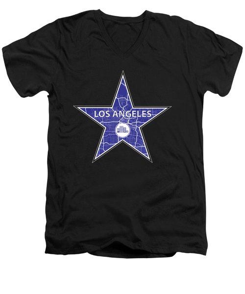 The Blueprint Men's V-Neck T-Shirt by Alek Cummings