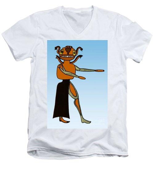 Gorgon, Legendary Creature Men's V-Neck T-Shirt by Photo Researchers