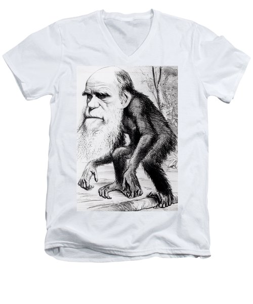 A Venerable Orang Outang Men's V-Neck T-Shirt by English School