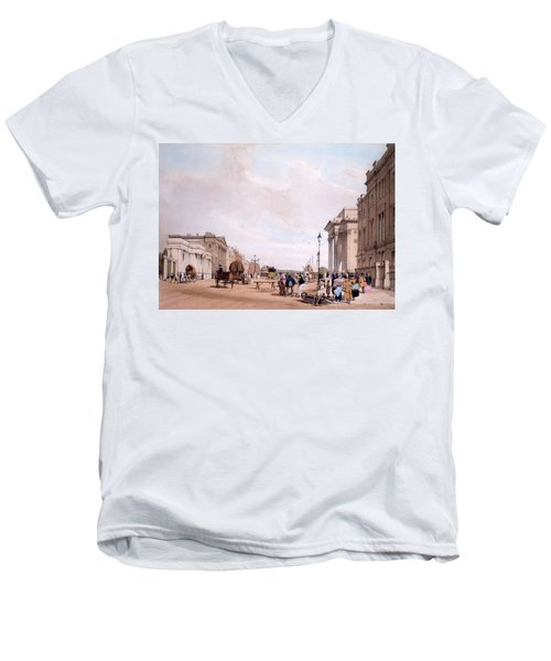 Hyde Park Corner, Looking Men's V-Neck T-Shirt by Thomas Shotter Boys