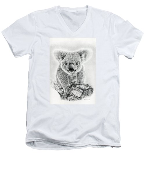 Koala Oxley Twinkles Men's V-Neck T-Shirt by Remrov