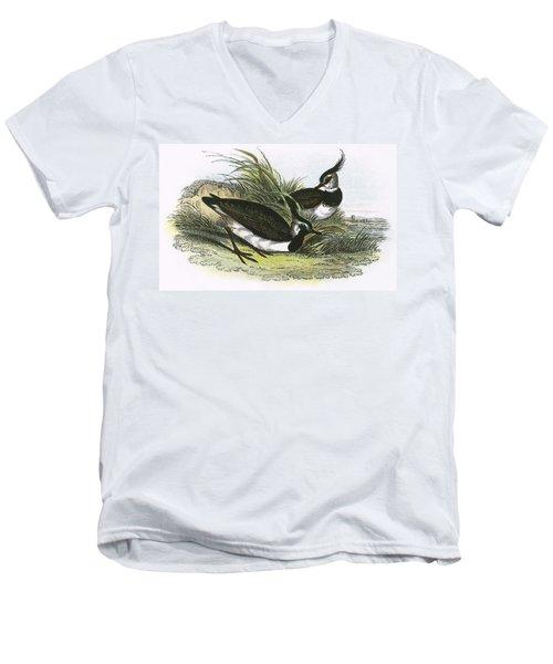 Lapwing Men's V-Neck T-Shirt by English School