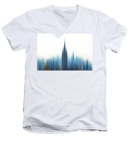 Moving An Empire Men's V-Neck T-Shirt by Az Jackson