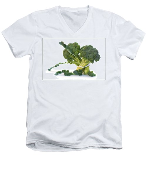 Pas De Trois Men's V-Neck T-Shirt by Nikolyn McDonald