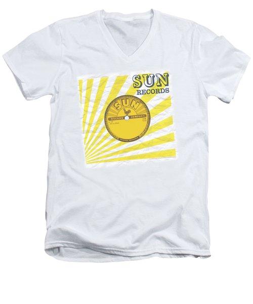 Sun - Fourty Five Men's V-Neck T-Shirt by Brand A