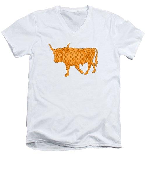 Aurochs Men's V-Neck T-Shirt by Mordax Furittus