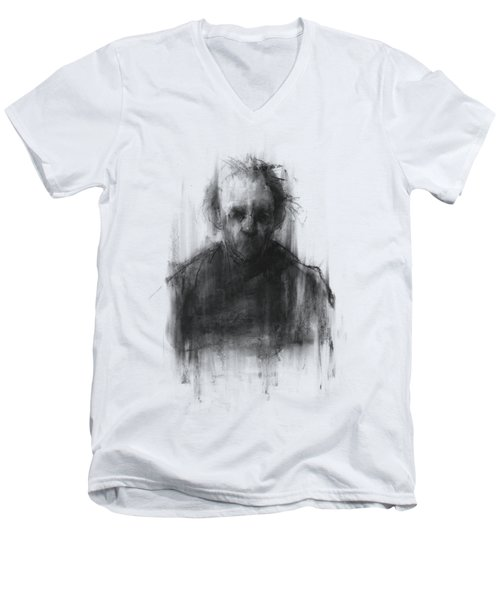 Simple Man Men's V-Neck T-Shirt by Bruno M Carlos