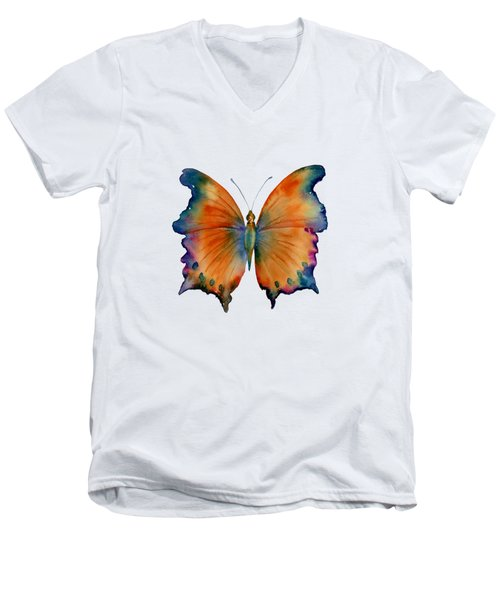 1 Wizard Butterfly Men's V-Neck T-Shirt by Amy Kirkpatrick