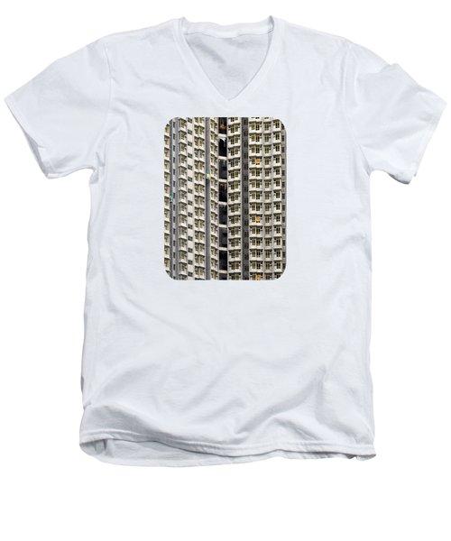 A Work In Progress Men's V-Neck T-Shirt by Ethna Gillespie