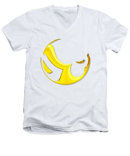 Absolutely Bananas Men's V-Neck T-Shirt by ISAW Company