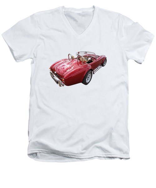 Ac Cobra 1966 Men's V-Neck T-Shirt by Gill Billington