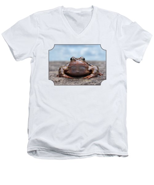 Leaving Home Men's V-Neck T-Shirt by Gill Billington
