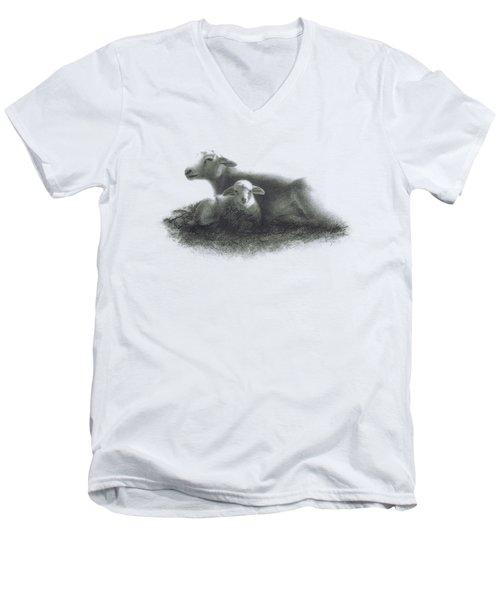 Harmony Men's V-Neck T-Shirt by Elisa Sbingu