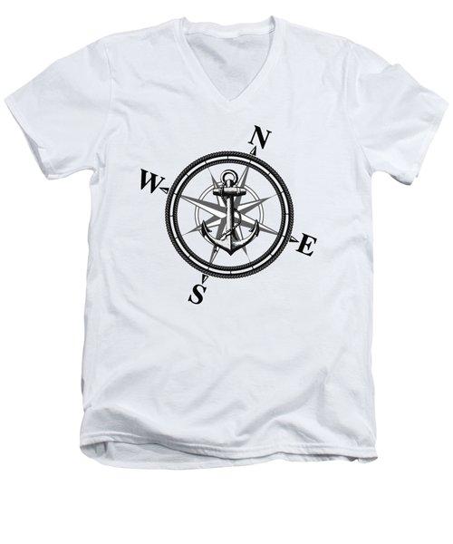 Nautica Bw Men's V-Neck T-Shirt by Nicklas Gustafsson