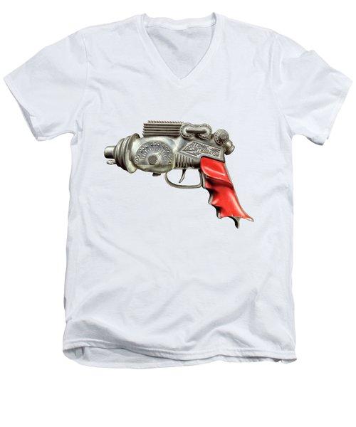Atomic Disintegrator Men's V-Neck T-Shirt by YoPedro