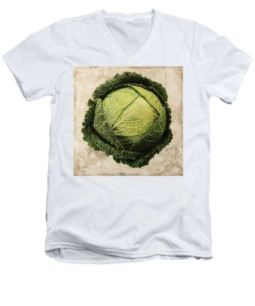 Checcavolo Men's V-Neck T-Shirt by Danka Weitzen