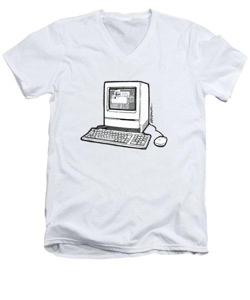 Classic Fruit Box Men's V-Neck T-Shirt by Monkey Crisis On Mars