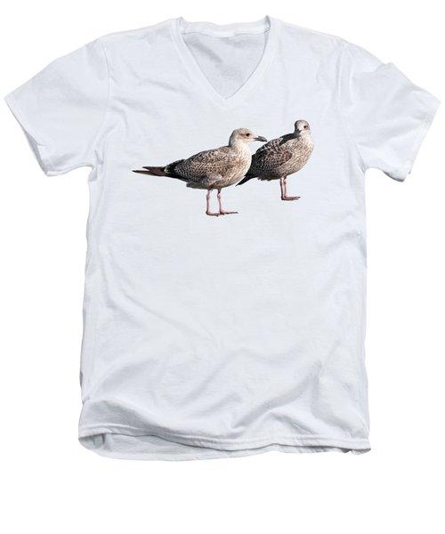 Do You Come Here Often Men's V-Neck T-Shirt by Gill Billington
