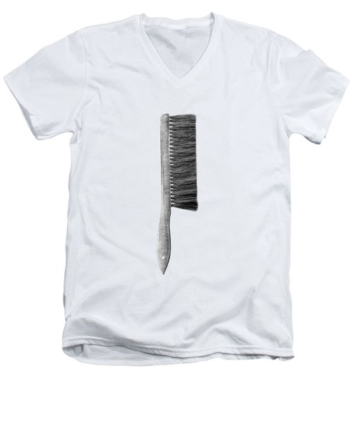 Drafting Brush Men's V-Neck T-Shirt by YoPedro