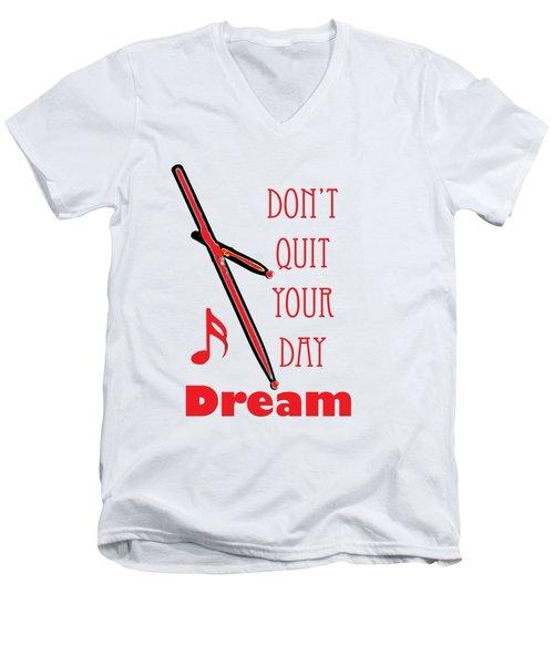 Drum Percussion Fine Art Photographs Art Prints 5020.02 Men's V-Neck T-Shirt by M K  Miller