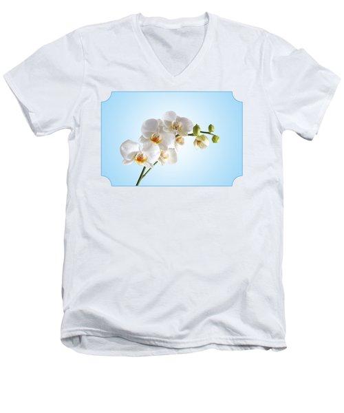 Elegance Men's V-Neck T-Shirt by Gill Billington