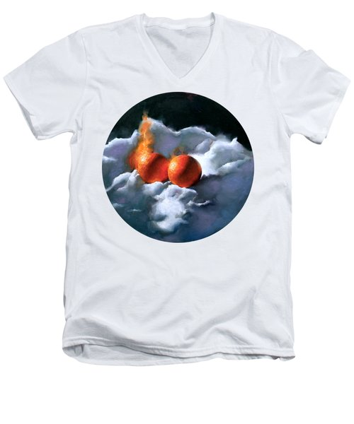 Empyral Men's V-Neck T-Shirt by Kai Lun Qu