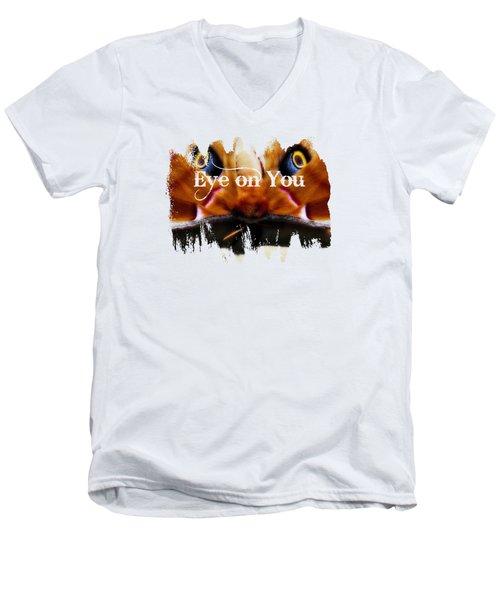 Eye On You Men's V-Neck T-Shirt by Anita Faye