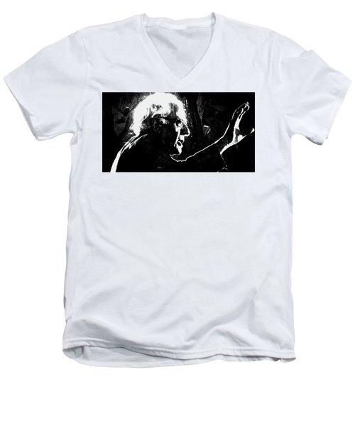 Feeling The Bern Men's V-Neck T-Shirt by Brian Reaves
