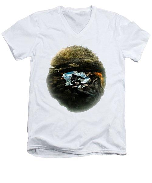 I Seen The Yeti Men's V-Neck T-Shirt by Gary Keesler