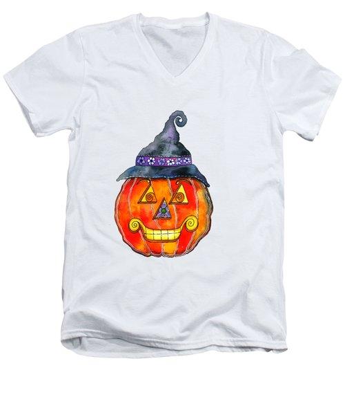 Jack Men's V-Neck T-Shirt by Shelley Wallace Ylst