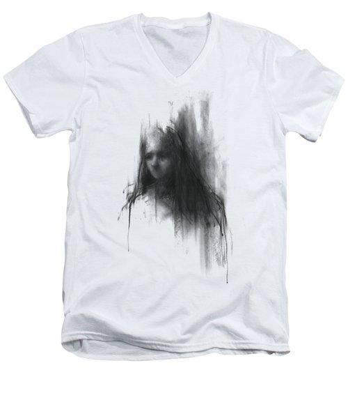 Like A Girl Men's V-Neck T-Shirt by Bruno M Carlos