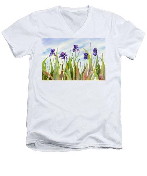 Listening To Divas Men's V-Neck T-Shirt by Amy Kirkpatrick