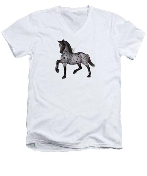 Mystic Men's V-Neck T-Shirt by Betsy Knapp
