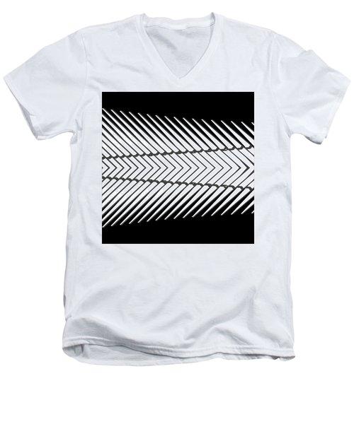 Oculus No. 3-2 Men's V-Neck T-Shirt by Sandy Taylor
