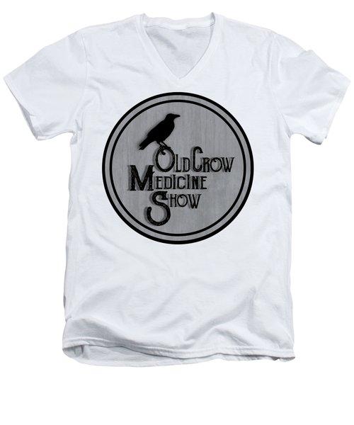 Old Crow Medicine Show Sign Men's V-Neck T-Shirt by Little Bunny Sunshine