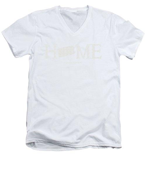 Pa Home Men's V-Neck T-Shirt by Nancy Ingersoll