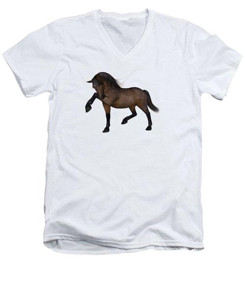 Paris Men's V-Neck T-Shirt by Betsy Knapp