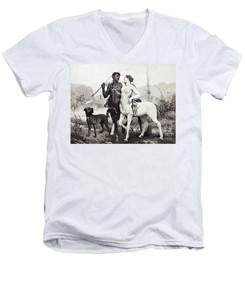 Schutzenberger: Centaurs Men's V-Neck T-Shirt by Granger