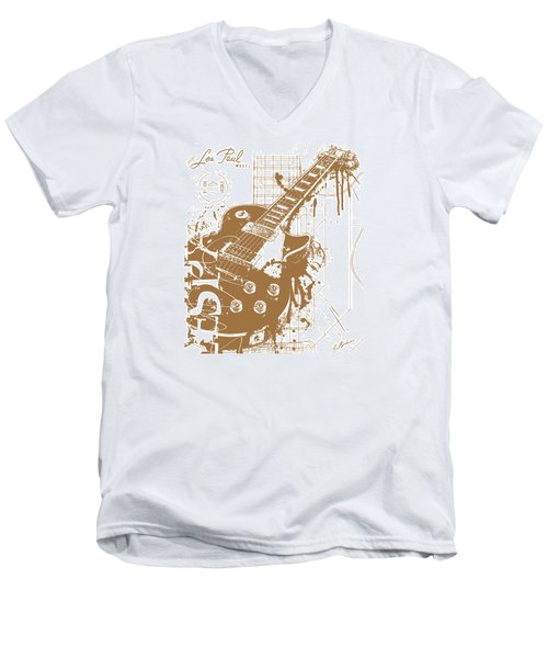 The Granddaddy V2 Men's V-Neck T-Shirt by Gary Bodnar