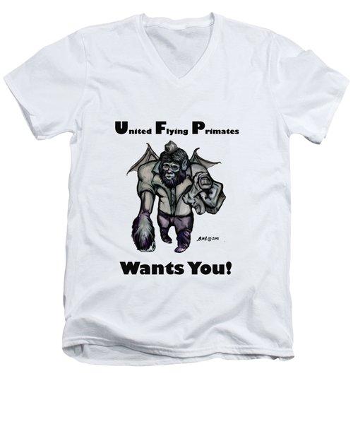 UFP Men's V-Neck T-Shirt by Riley Frank