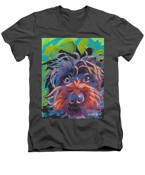 Bedhead Griff Men's V-Neck T-Shirt by Lea S