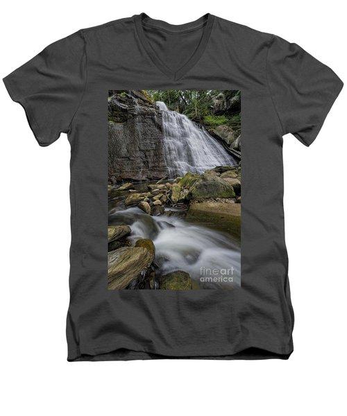 Brandywine Flow Men's V-Neck T-Shirt by James Dean