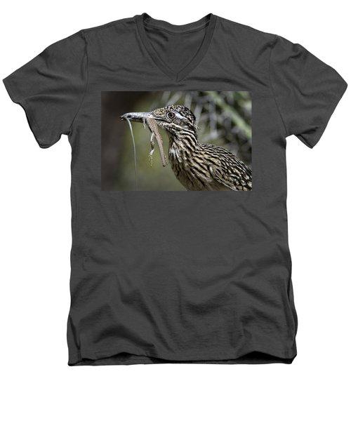 Hungry Anyone??  Men's V-Neck T-Shirt by Saija  Lehtonen