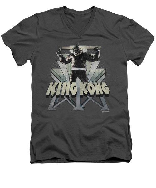 King Kong - 8th Wonder Men's V-Neck T-Shirt by Brand A